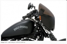 Cupolino cafe racer per Harley XL-FXD-XG